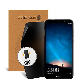 Celicious Privacy 2-Way Visual Black Out Screen Protector for Huawei Mate 10