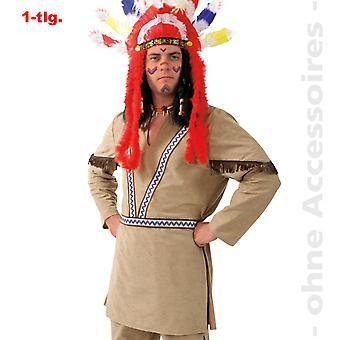 ネイティブ アメリカンのインディアン衣装メンズ コスチューム Apache Winnetou メンズ衣装