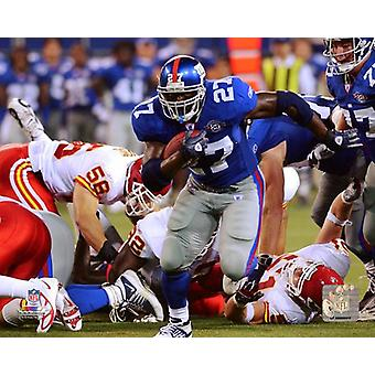 Ron Dayne 2004 Action Photo Print