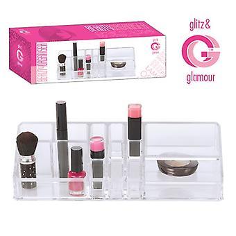 Acryl Clear make-up organisator cosmetische lade opslag geval juwelendoosje netjes verschillende typen