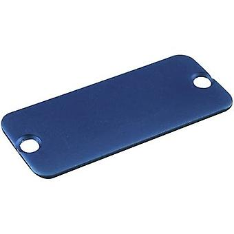 End cover Aluminium Blue Hammond Electronics 1455LALBU-10 1 pc(s)