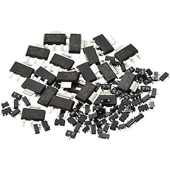 Kemo Transistor set SMD Transistoren ca. 100 Stück [S108]