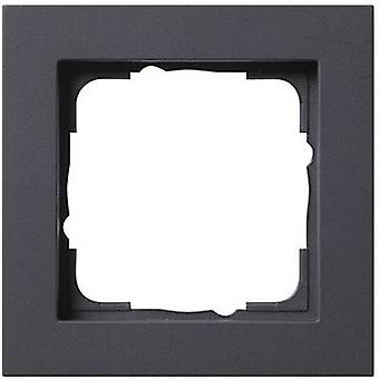 GIRA 1x Frame E2, Standard 55, System 55 Anthraci