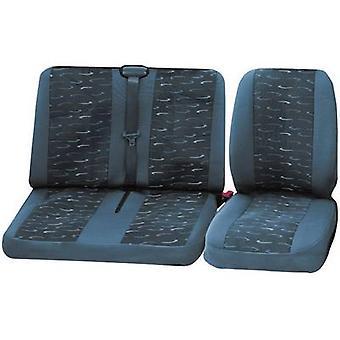 funda de asiento de coche cartrend conjunto verde