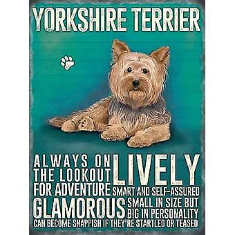 Yorkshire Terrier Fridge Magnet