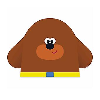 Duggee from Hey Duggee Single 2D Card Party Face Mask