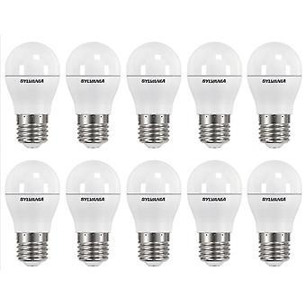 10 x Sylvania ToLEDo Ball Dimmable E27 V3 5.6W Daylight LED 470lm [Energy Class A+]