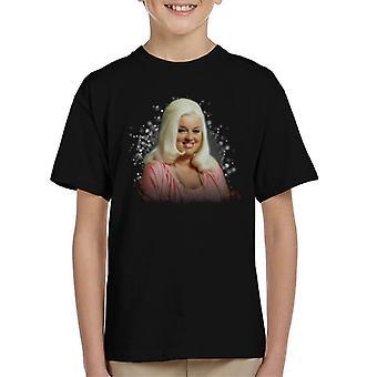 TV Times Diana Dors 1983 Kid's T-Shirt
