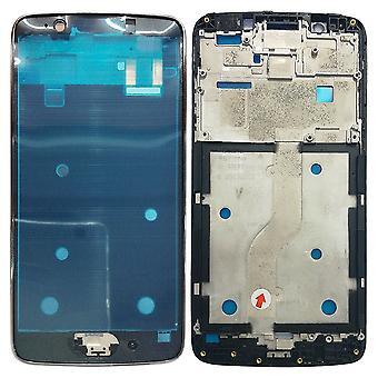Gehäuse Rahmen Mittelrahmen Deckel kompatibel für Motorola Moto G5 Grau