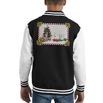 Ursprungliga Stormtrooper Christmas Tree Sockertopp Slide Kid's Varsity jacka