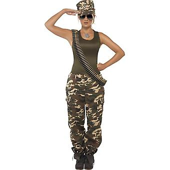 Khaki Camo Costume, , UK Dress 8-10