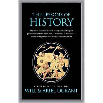 The Lessons of History by Will Durant - 9781439149959 Book