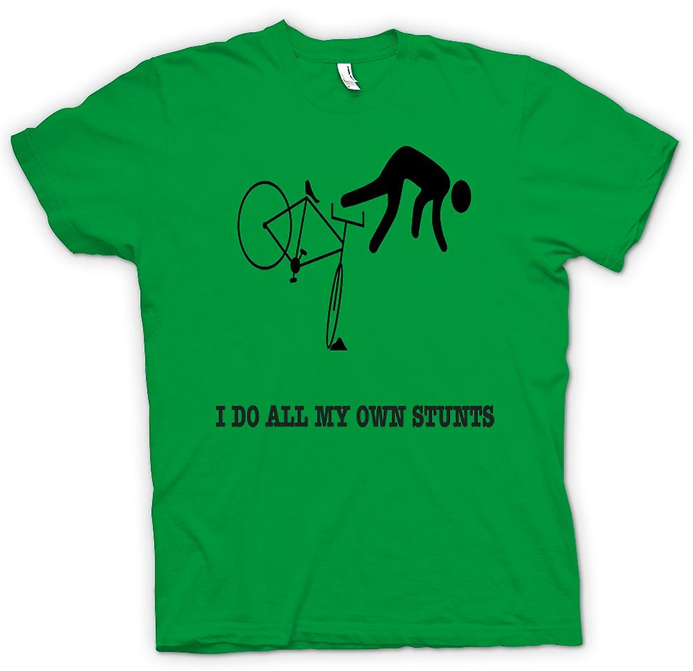 Mens T-shirt - Stunt Man alle Stunts - grappig