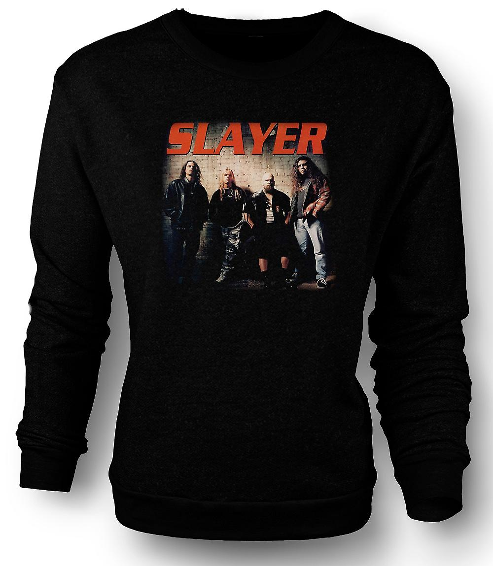 Mens Sweatshirt Slayer - Heavy-Metal-Band