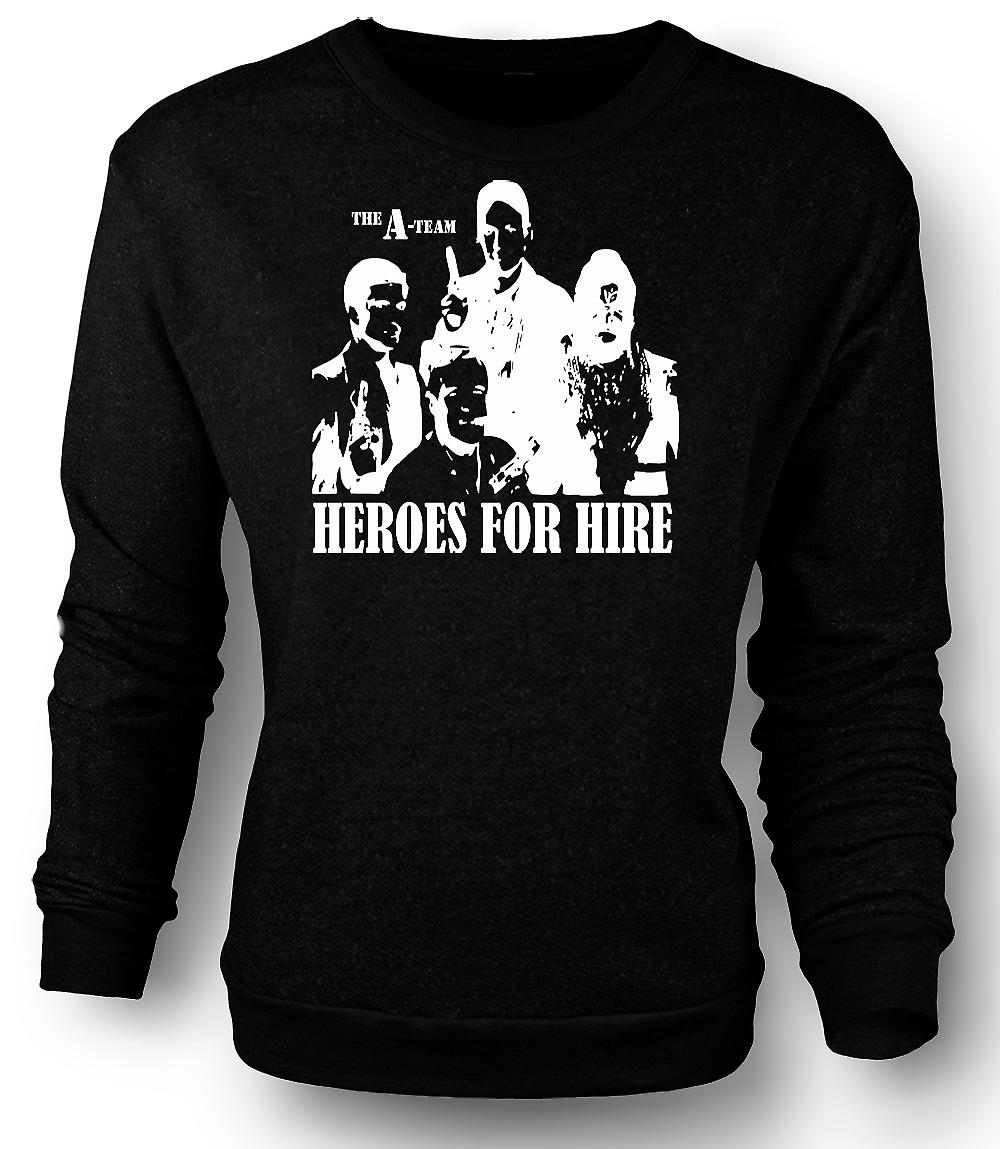 Mens Sweatshirt A Team helter - Retro - filmen 0s - Tv