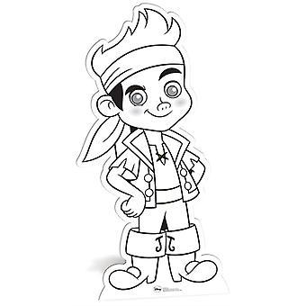 Jake und die Neverland-Piraten Farbe und halten Karton Ausschnitt / Standup / f