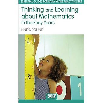 Tænke og lære om matematik i de tidlige år