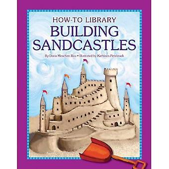 Bygga sandslott (How-To bibliotek
