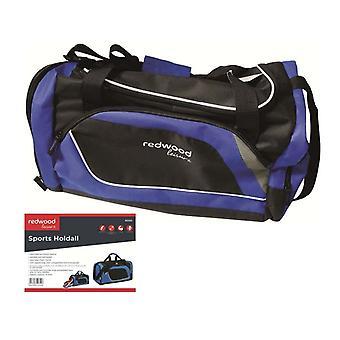 Sporttasche Reisetasche Hand Tasche schwer tragen schwarze blaue Reise Gepäck Sporttasche