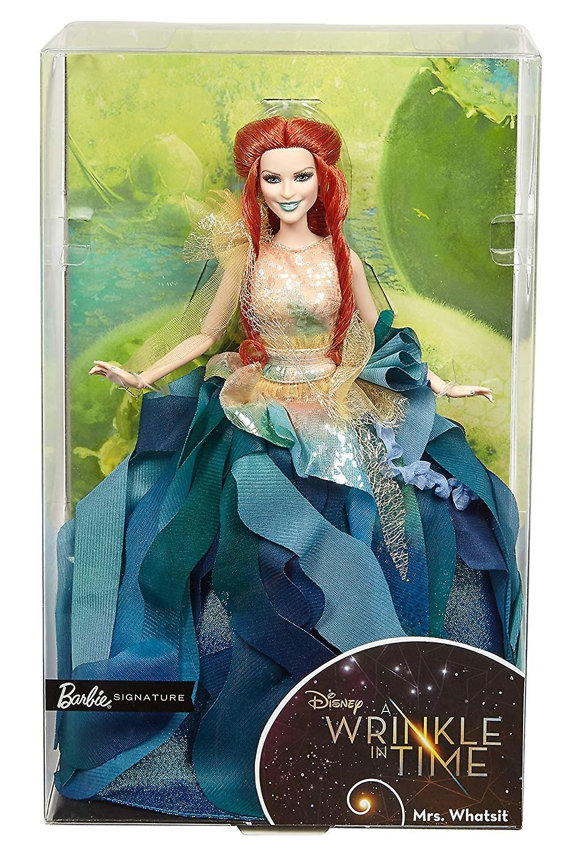 Barbie Mrs. Whatsit Doll noir Label Collector Figure