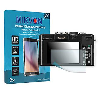 Panasonic Lumix-DMC LX7 Screen Protector - Mikvon Armor Screen Protector (Retail Package with accessories)