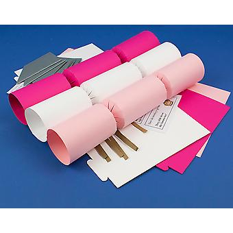 8 Christmas Ballerina Mix Make & Fill Your Own Crackers Kit