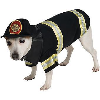 زي الحيوانات الأليفة رجال الإطفاء