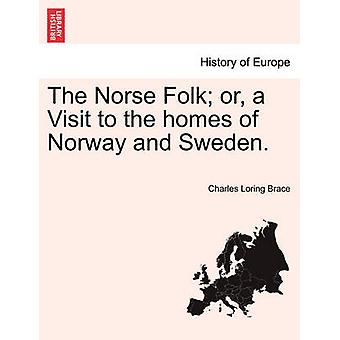 The Norse Folk or a Visit to the homes of Norway and Sweden. by Brace & Charles Loring