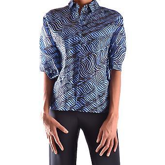 Kenzo blå tyg skjorta