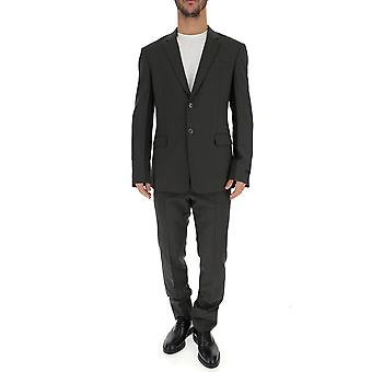 Prada Grey Wool Suit