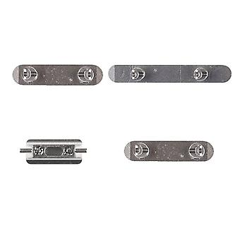 Silver Side Button Set For iPhone X | iParts4u