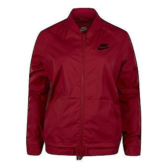 Nike Sportswear Damen der Nike Logo Jacket - 822001-620 gewebt