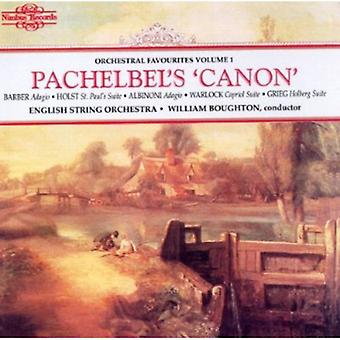 English String Orchestra - Pachelbel's 'Canon' [CD] USA import