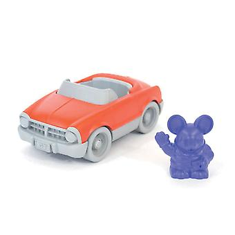 Green Toys Convertible Car Toy with Character BPA Free Eco Friendly Toy