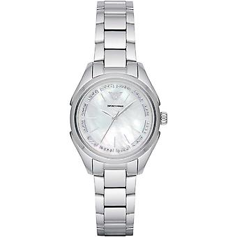 Emporio Armani Ar11030 Silver 32mm Stainless Steel Women's Watch