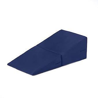 Fun!ture� Blue Faux Leather Folding Incline Gymnastics Wedge