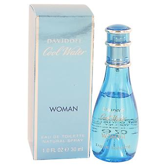 COOL WATER by Davidoff Eau De Toilette Spray 1 oz / 30 ml (Women)