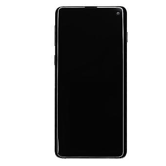 Genuine Samsung Galaxy S10 Prism Black LCD Screen | iParts4u