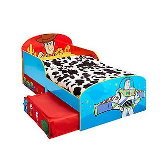 Toy Story 4 Lit pour tout-petits avec storage Plus Deluxe Foam Mattress