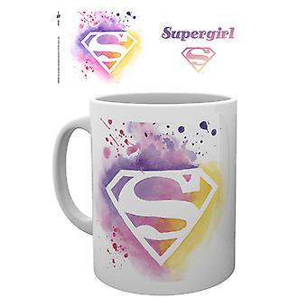 SUPERGIRL Paint Boxed Drinking Mug
