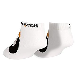 Socks - Overwatch - Logo Symbol Icon BLACK pack-of-3 j6197-white