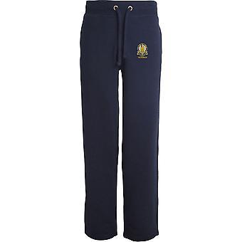 14ème Kings Hussars Veteran - Licensed British Army Embroidered Open Hem Sweatpants / Jogging Bottoms