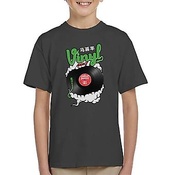 London Banter Vinyl Addict Kid's T-Shirt