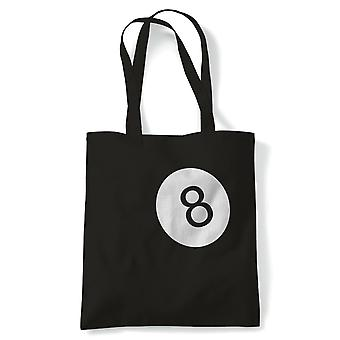 8 Ball Kustom Kulture Car Tote - France Hot Rat Rod Muscle Drag Tuner Street Racer Custom (fr) Reusable Shopping Cotton Canvas Long Handled Natural Shopper Eco-Friendly Mode