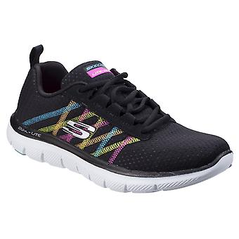 Skechers Womens Flex Appeal 2.0 Act Cool Trainer