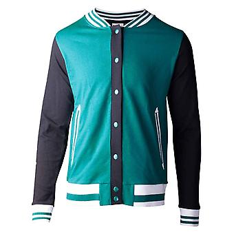 Rick and Morty Jacket Space Travel UFO Logo new Official Womens Varsity