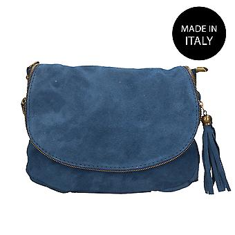 Leather shoulder bag Made in Italy 80057