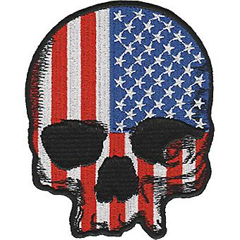 Patch - Skulls & Skeletons - With US Flag Icon-On p-dsx-4867