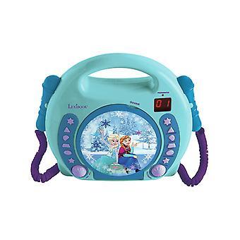 Disney bevroren CD-speler met microfoons