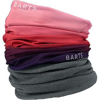 Barts Mens Multicol Dip Dye Polar Fleece Neckwarmer Scarf